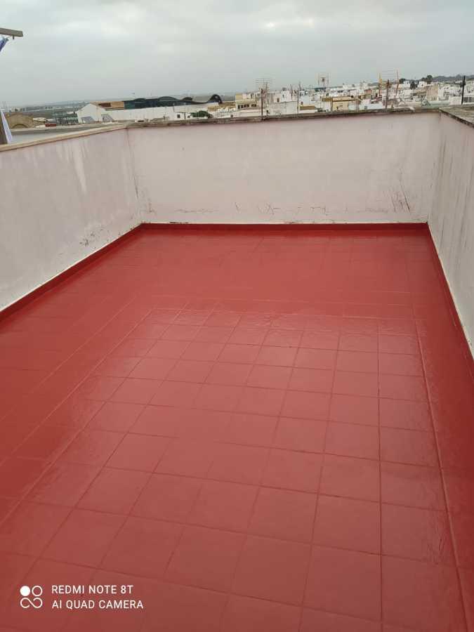 Impermeabilización de terrazas con clorocaucho marca Sika alta calidad 01