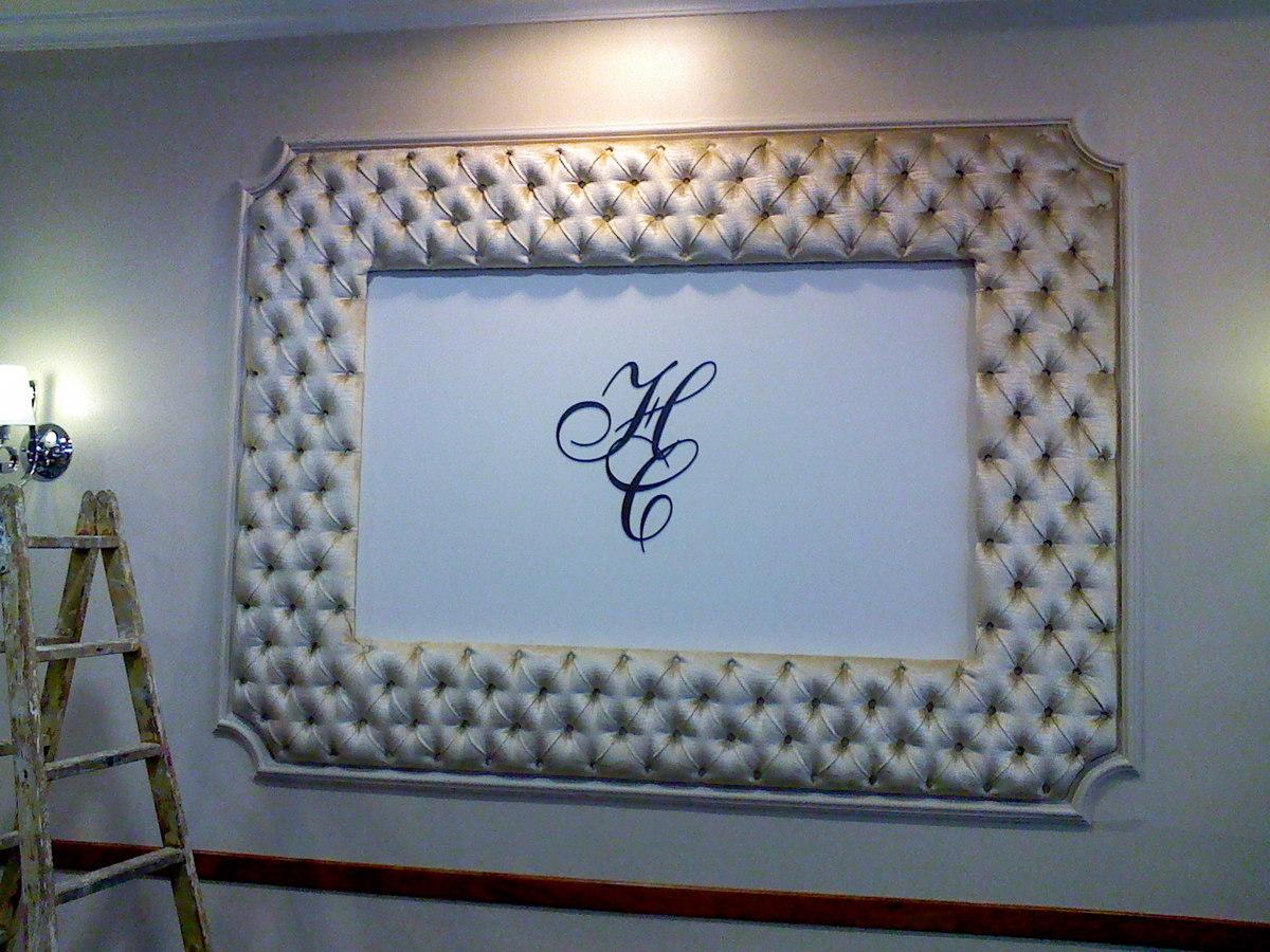 Foto marco tapizado en capitone de tam fer tapicerias - Tapiceros en salamanca ...