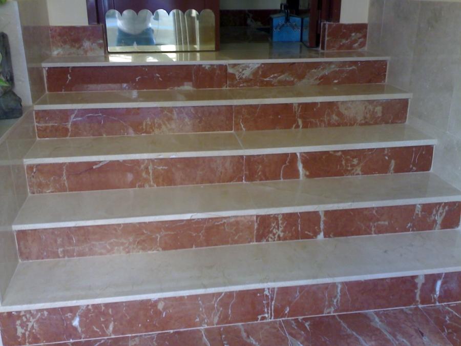 Foto marmol de stefan reformas generales 239248 - Peldanos de marmol ...