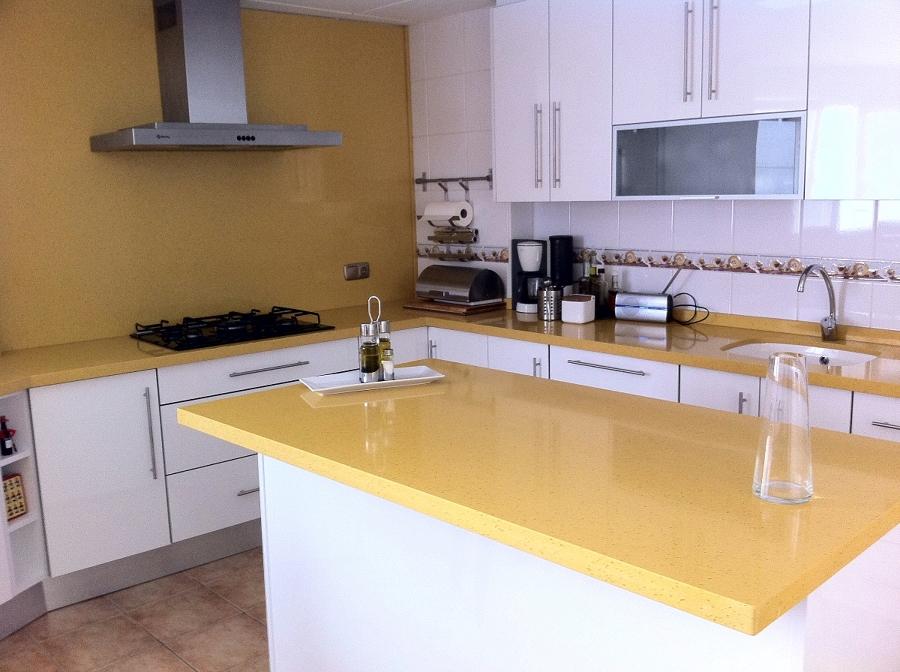 Foto marmoles villena cocina quarella de marmoles villena 132807 habitissimo - Marmoles para cocinas ...