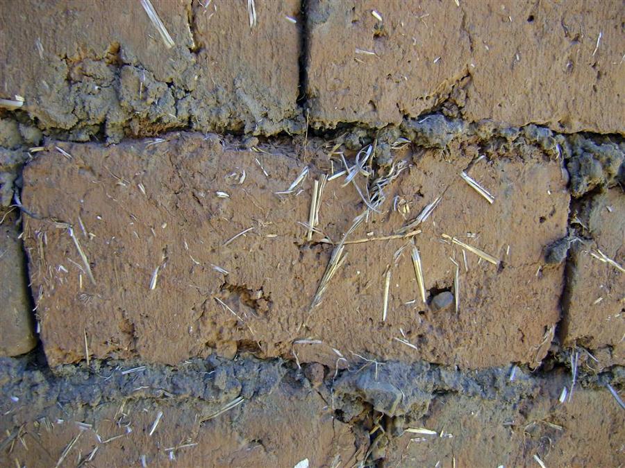 Materiales naturales: adobe
