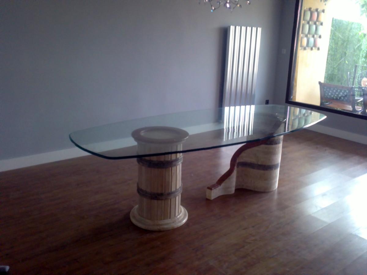 Foto mesa comedor de anpergran 152451 habitissimo - Mesa comedor granada ...