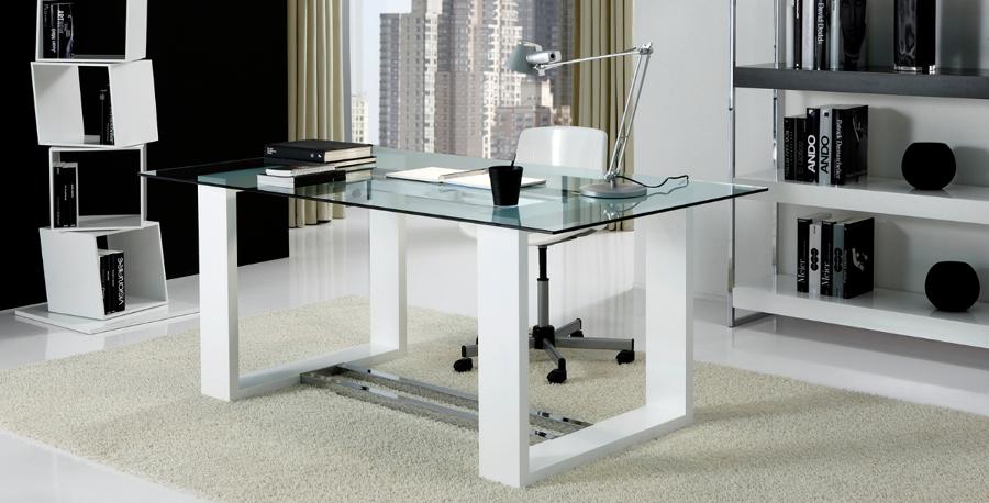 Foto mesa de despacho cheiro de tecnocubo systems 344104 habitissimo - Mesas de despacho de cristal ...