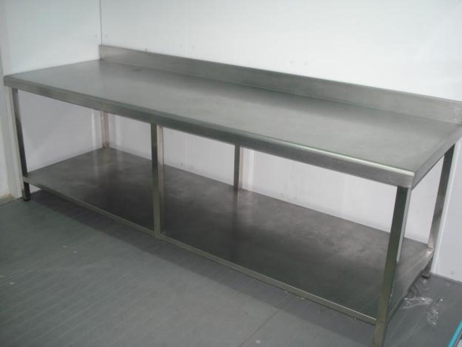 Foto mesa de trabajo de bar de inoxidablespenedes 715681 habitissimo - Mesa de trabajo metalica ...