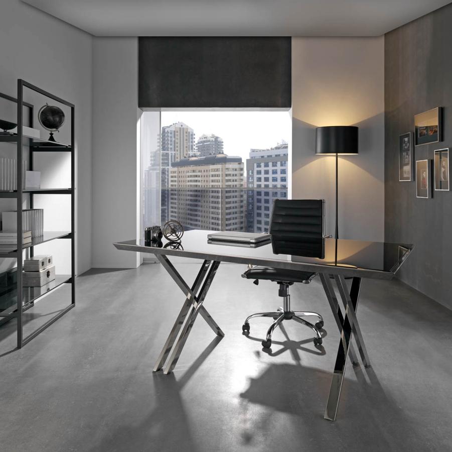 Foto mesa despacho de muebles paco caballero 386542 for Muebles de oficina salamanca