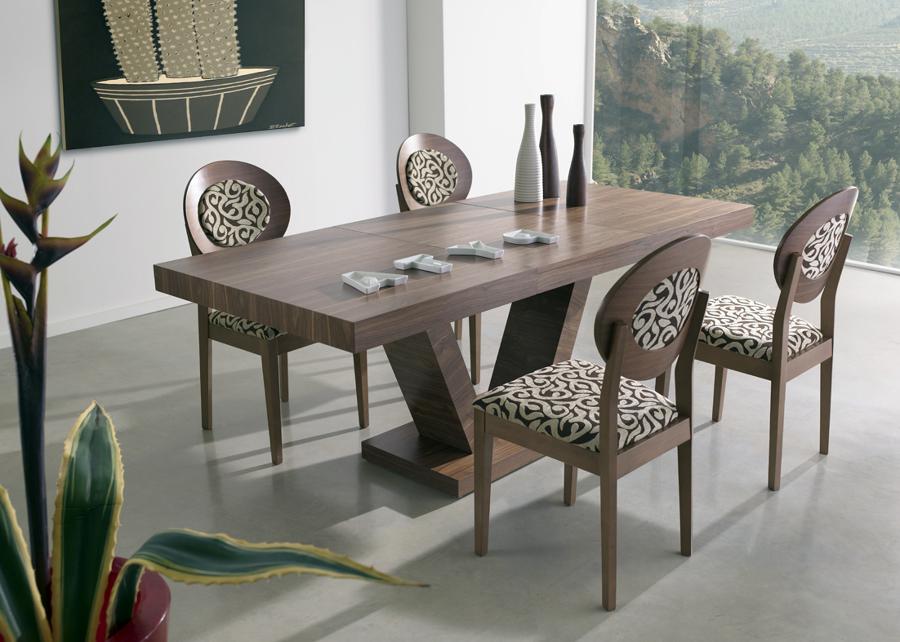 Foto mesa gran dise o diana pie central de muebles sivima - Pies para mesas ...