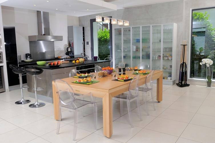 Foto mesa multifunci n de comedor a billar de boutique for Mesas comedor sevilla
