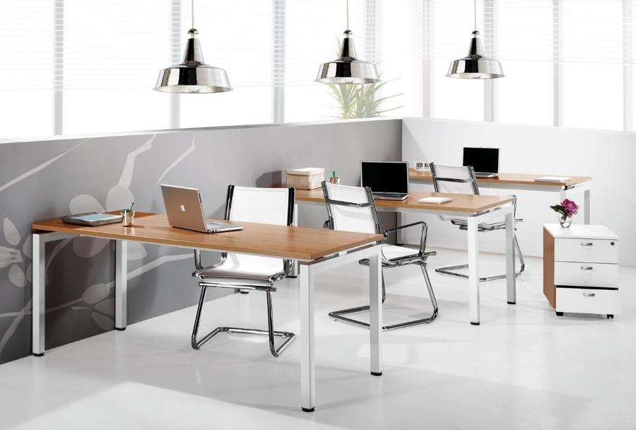 Foto mesas de oficina de mobiofic de mobiofic 315658 for Muebles de oficina ourense