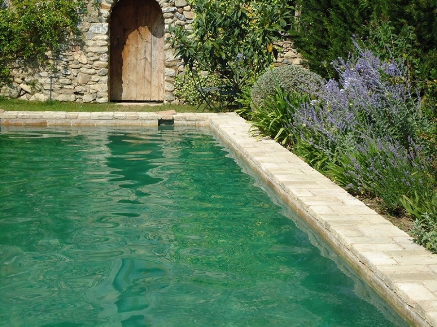 Foto microcemento aplicacion en interior de piscina de for Precio para construir una piscina