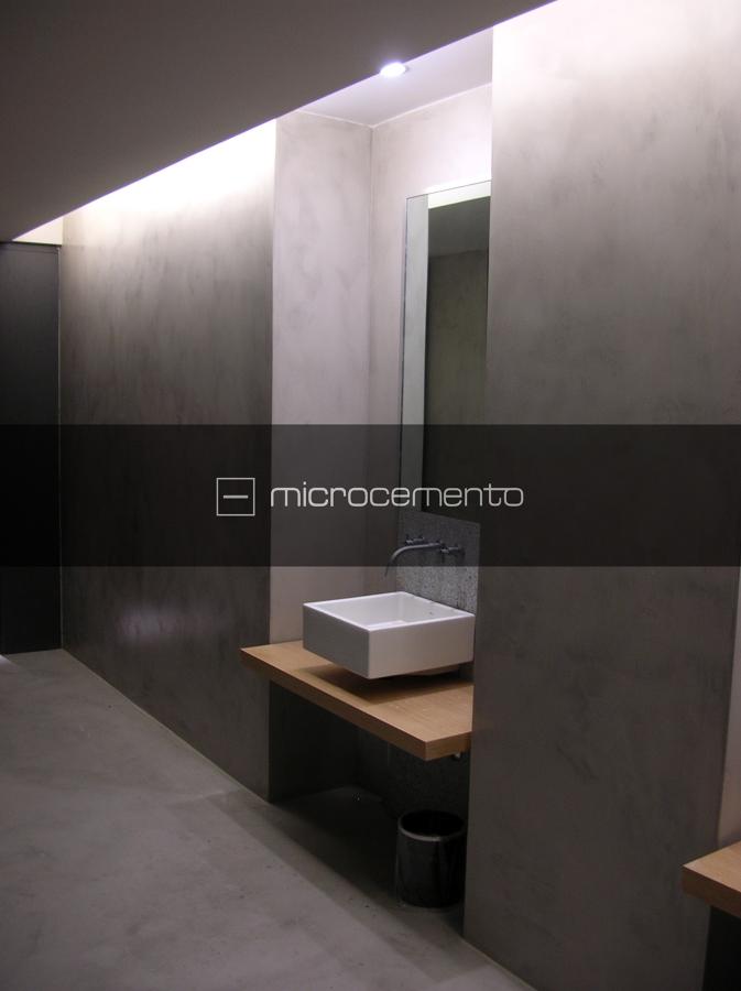 Foto microcemento ba os de via chiessa cement design - Microcemento banos ...