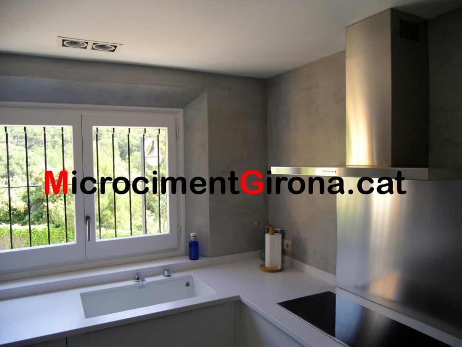 Foto microcemento cocina de microciment girona 140703 habitissimo - Microcemento en cocinas ...