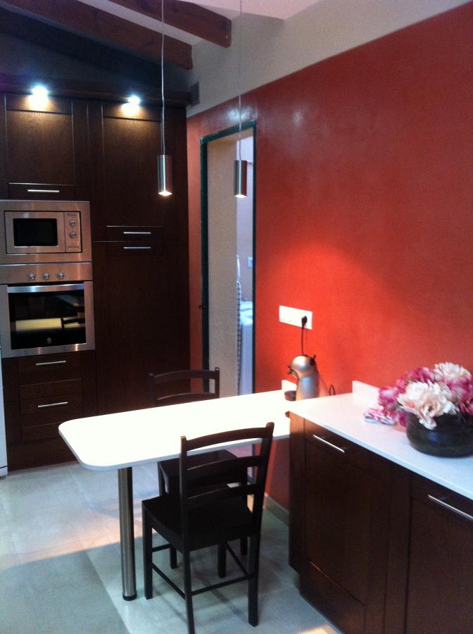 Foto microcemento en paredes de cocina de systemcement 466227 habitissimo - Microcemento en cocinas ...