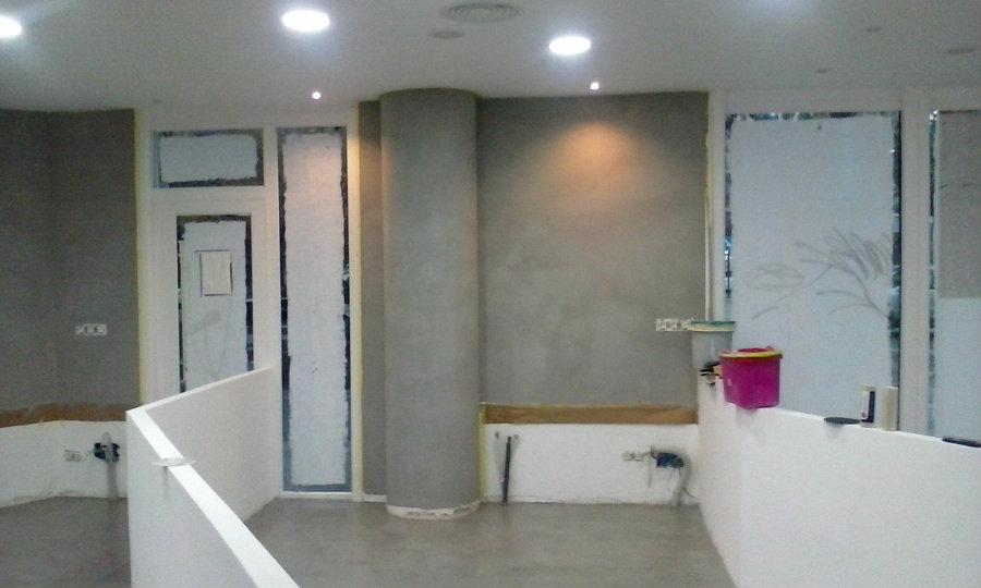 Foto microcemento paredes de microban reformas integrales - Microcemento paredes ...