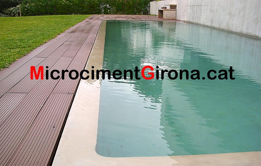 Foto microcemento piscina de microciment girona 140704 - Microcemento piscinas ...