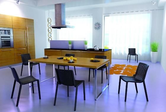 Foto mobiliario de hosteleria y hogar silla kat de for Mobiliario para hogar