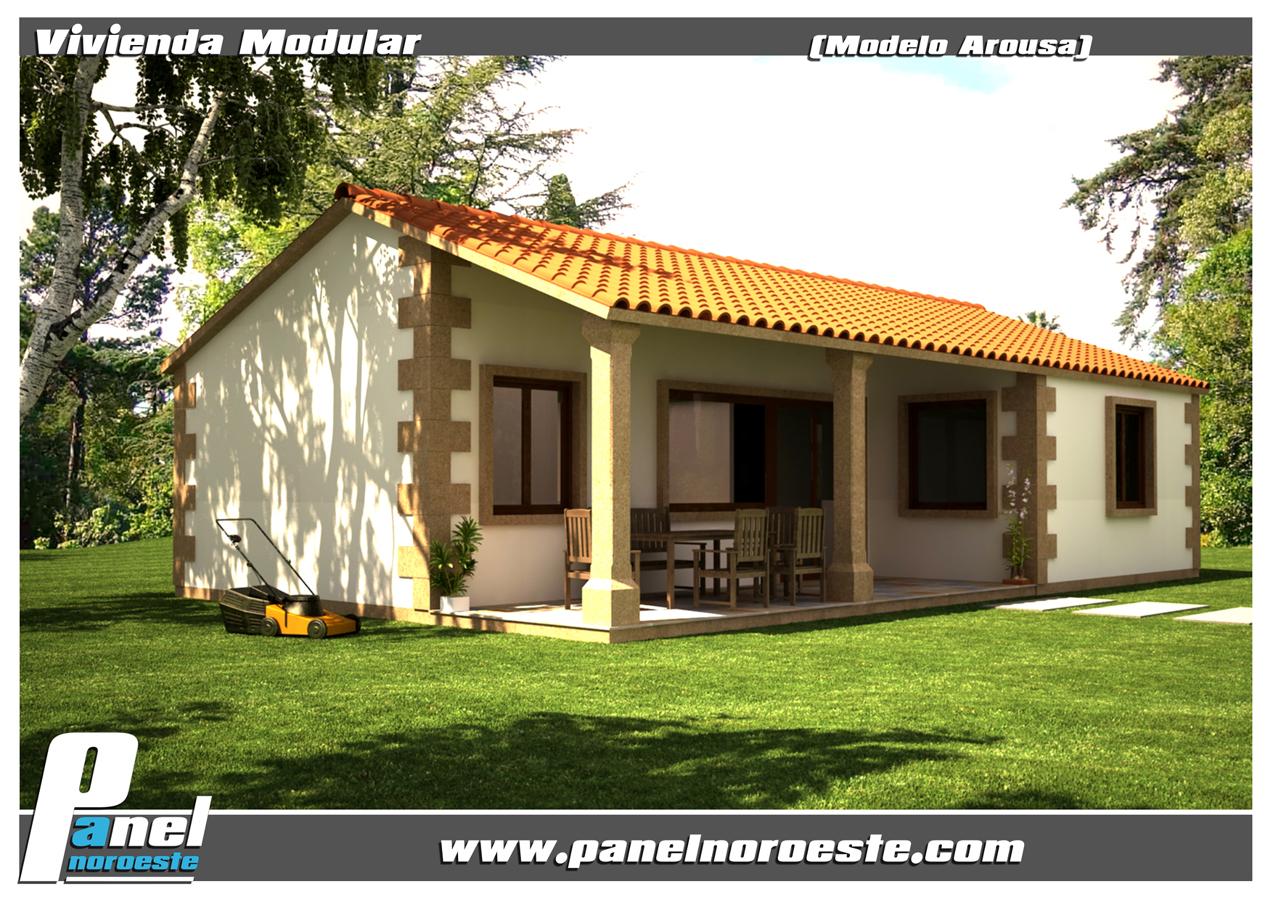 Foto modelo arousa de panelnoroeste 290382 habitissimo - Casas prefabricadas en pontevedra ...