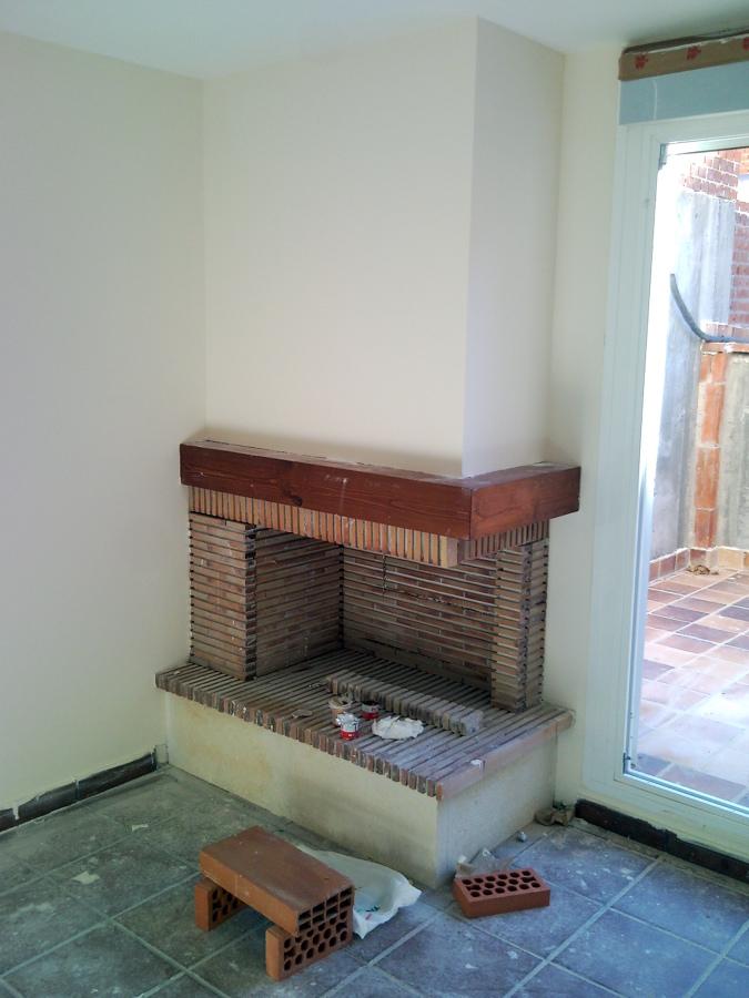 Foto modelo especial de esquina de chimeneas f nix - Chimenea en esquina ...