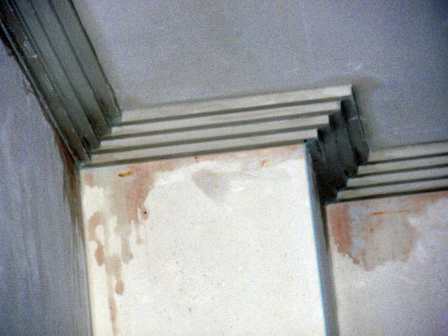 Molduras para exterior mf200 cornisa fachadas decoracion car interior design - Colocar moldura escayola ...