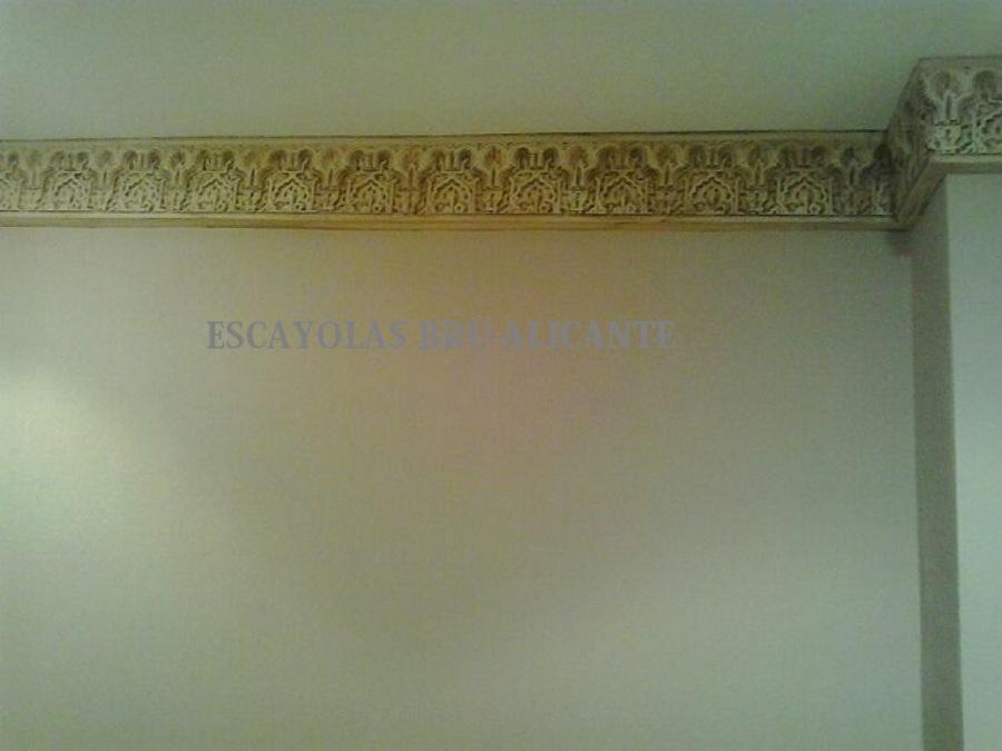 Foto molduras de escayola estilo rabe de escayolas bru 540771 habitissimo - Molduras de escayola ...