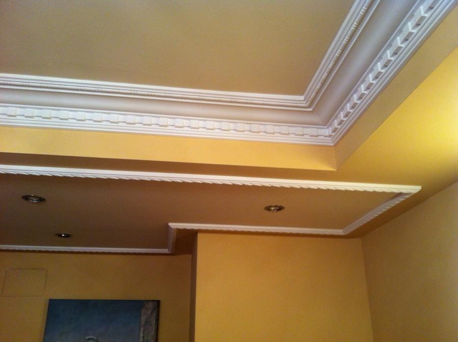 Foto molduras decorativas de decoraciones en escayola y pladur oscar barrera 703099 habitissimo - Molduras decorativas pared ...