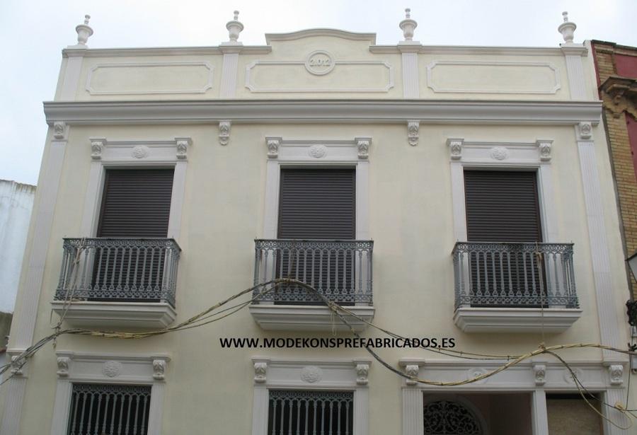 Foto molduras para fachadas de modekons prefabricados s - Molduras para fachadas ...