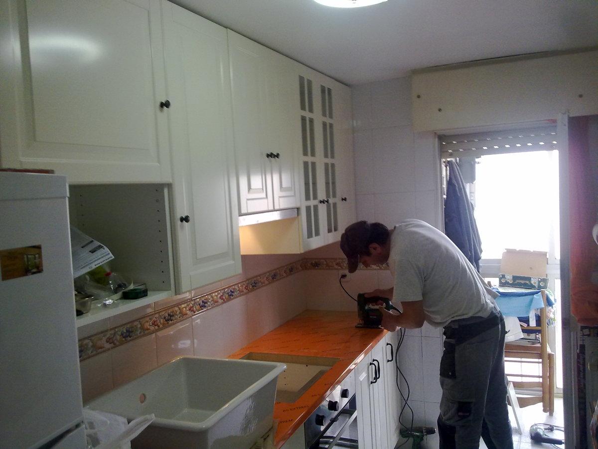 Foto montaje cocinas de predaart 276365 habitissimo - Montaje de cocina ...