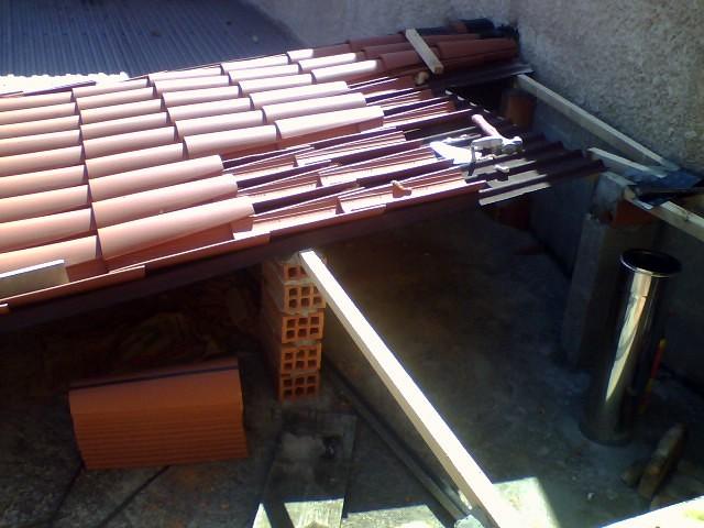 montar tejado simple sobre placa recta