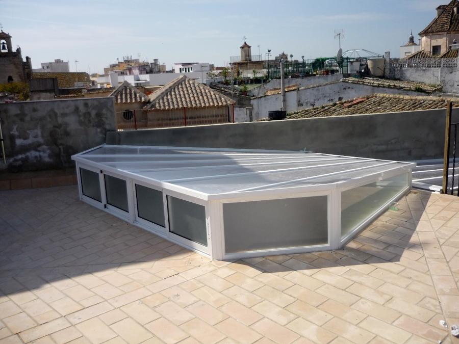 Foto montera de aluminio de hogarven 208641 habitissimo for Piscina guadalcacin