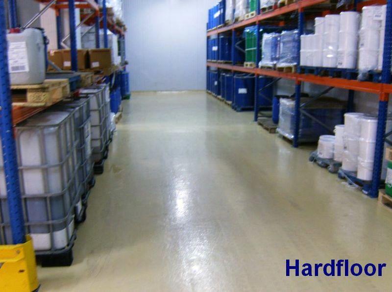 pavimento multicapas epoxy en cámara frigorífica