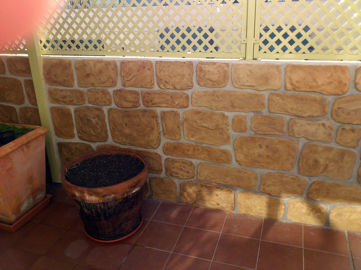 Foto mortero texsurable para imitaci n piedra de fco - Pared imitacion piedra ...