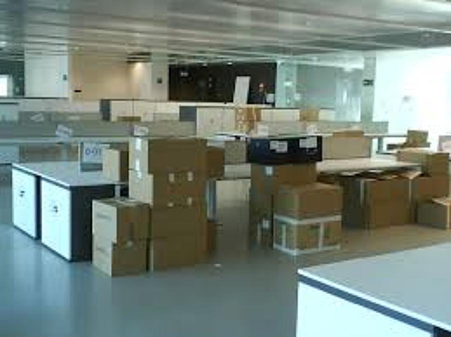 foto mudanzas de oficinas de servicios logisticos