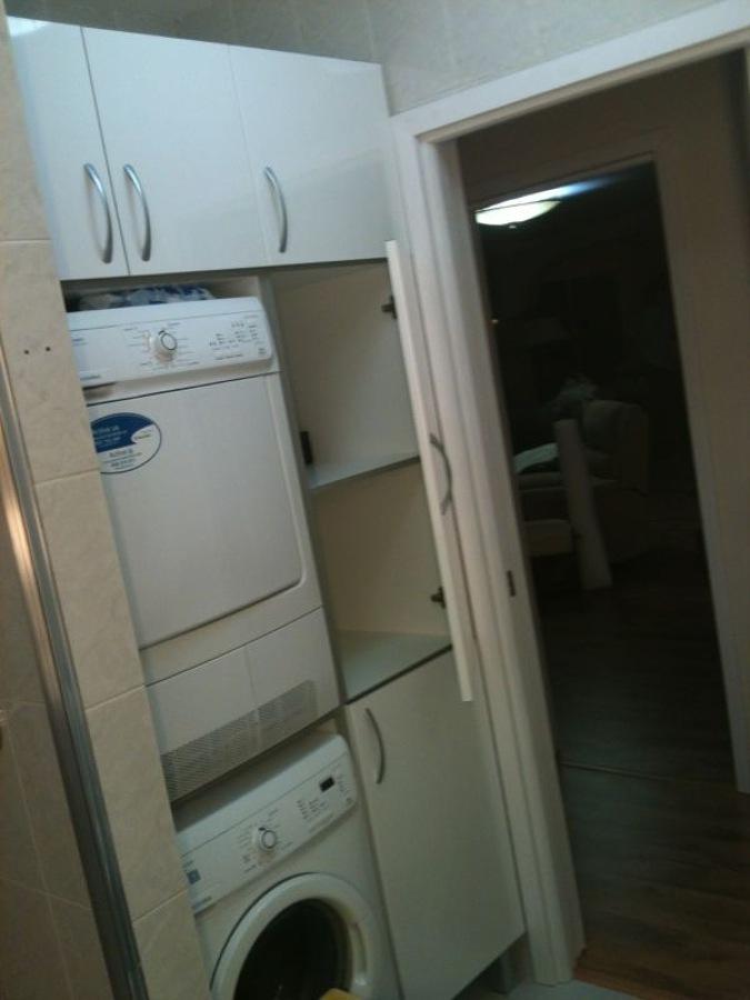 Foto mueble a medida para secadora lavadora y productos - Medidas de lavadoras y secadoras ...