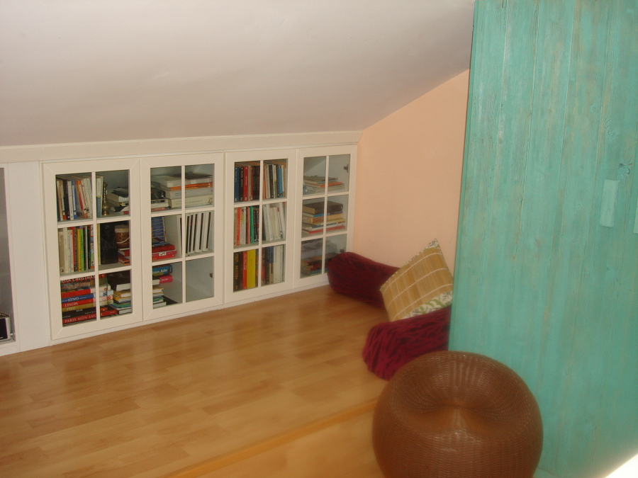 Foto mueble almacenaje buhardilla de la carpinteria - Muebles para buhardillas ...
