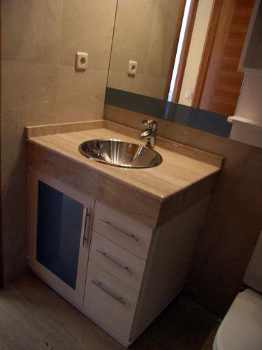 Foto mueble bajo encimera de muebles de ba o jara 282036 for Mueble bano bajo encimera