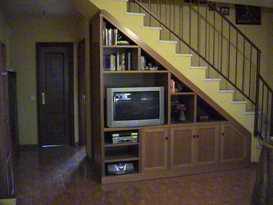 Foto mueble bajo escalera de ebanister a carpinter a - Muebles bajo escalera ...