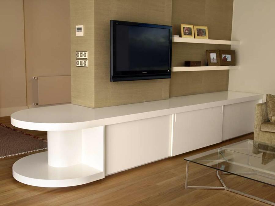 foto mueble bajo para salon de carpinteros madrid 210298