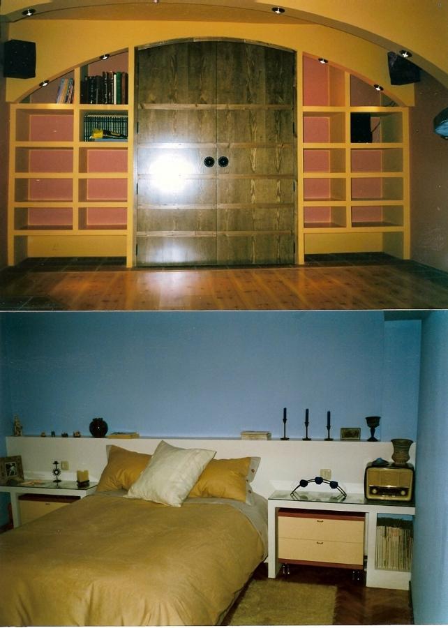 Foto mueble bodega y cabecero de dormitorio de for Mueble bodega