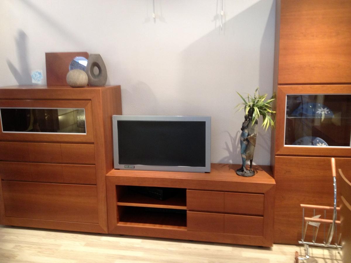 Foto mueble dde comedor en chapa de cerezo natural ancho - Muebles de cerezo ...