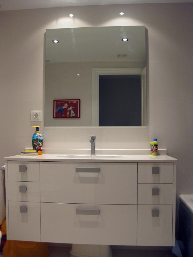 Foto mueble de ba o a medida de muebles de cocina zappin - Mueble bano a medida ...