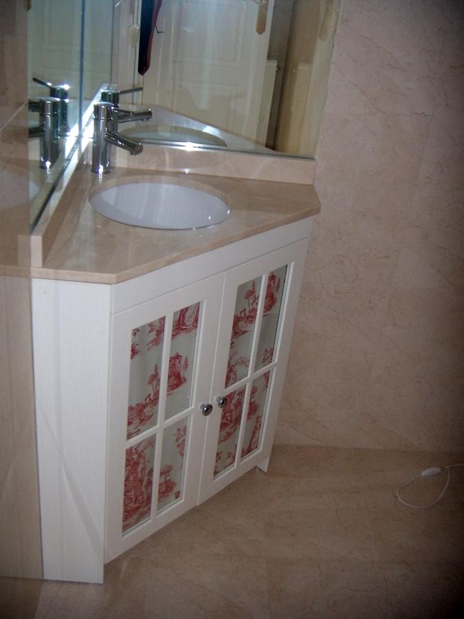 Foto mueble de ba o en rinc n de artilara decoracion - Muebles de bano en sevilla ...