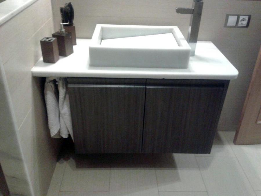 Mueble Baño Original:Foto: Mueble de Baño Suspendido de Fusteria Les Portelles Todo En