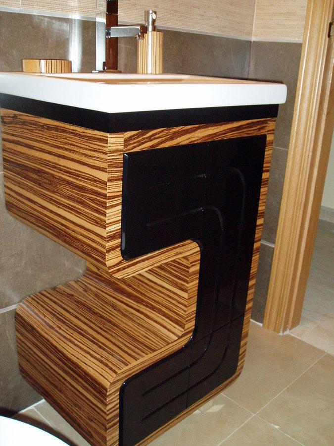 Foto mueble de ba o de muebles efelu 470839 habitissimo - Muebles de bano en madera ...