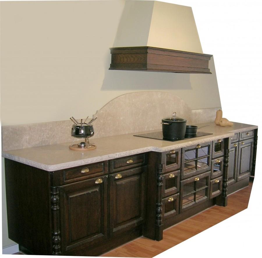 Foto mueble de cocina mod rustico de encimeras madrid for Muebles de cocina huesca
