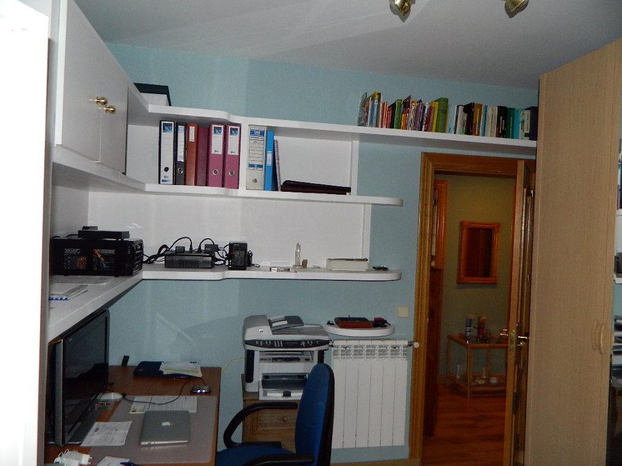 Foto mueble de escayola lacado en blanco de reformas - Mueble de escayola ...