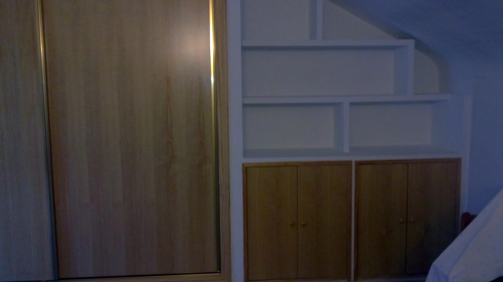 mueble de escayola y armario empotrado