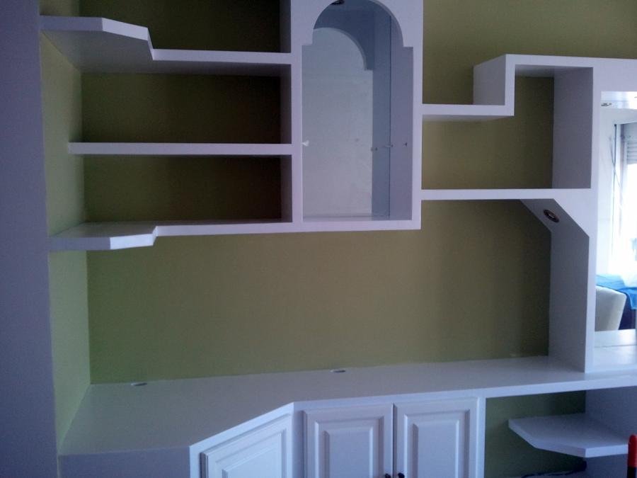 Foto mueble de escayola de e o m distribuci n y servicios - Muebles pladur para salon ...
