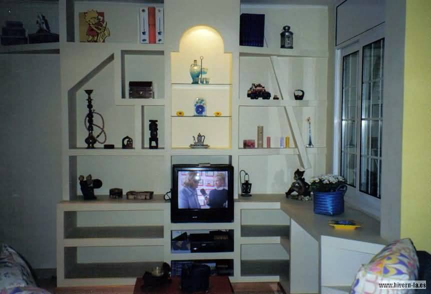 Foto mueble de pladur de pintoresbcn 233014 habitissimo - Mueble de pladur ...