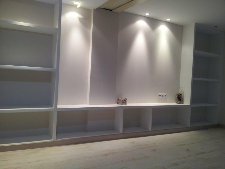Foto mueble de sal n de pladur de consrees 565133 habitissimo - Muebles de pladur para salon ...