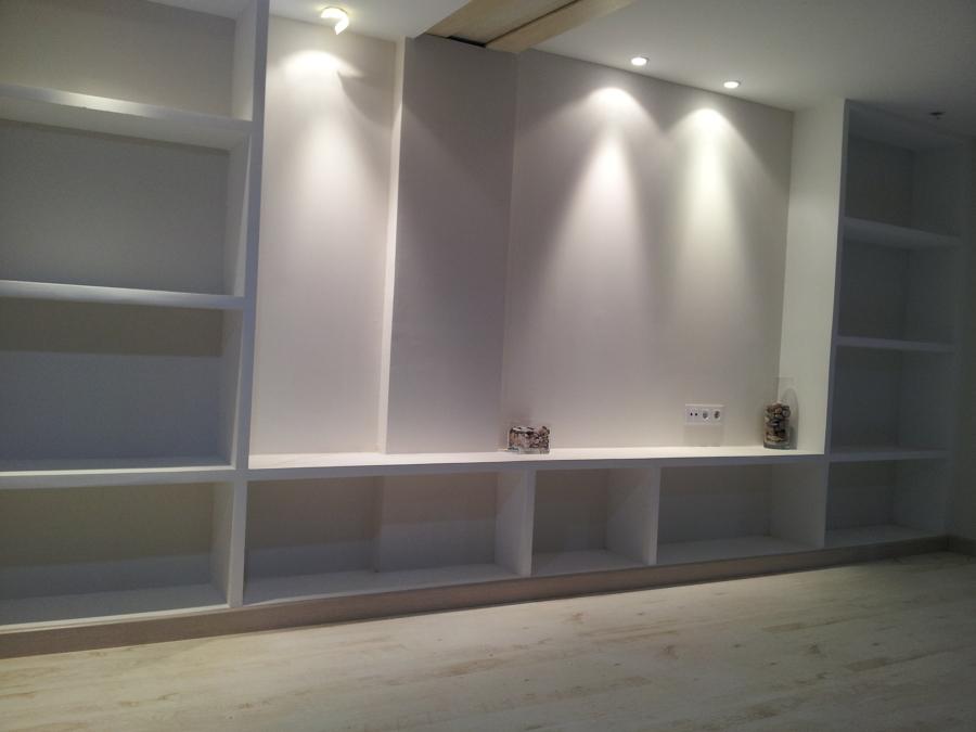 foto mueble de sal n de pladur de consrees 565133