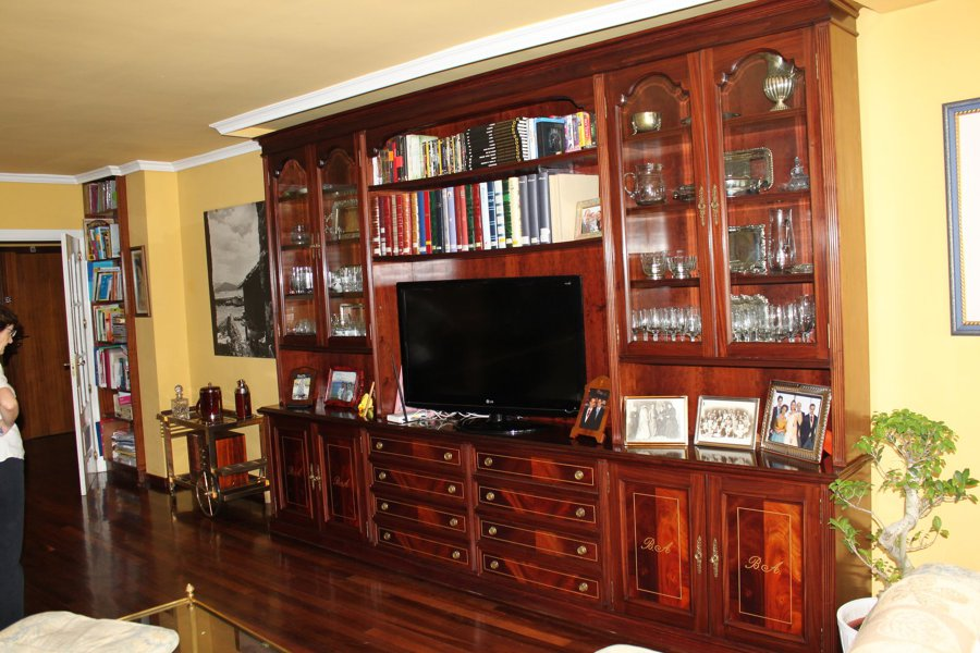 Foto mueble de salon de carpinteria ebanisteria y - Muebles campillo madrid ...